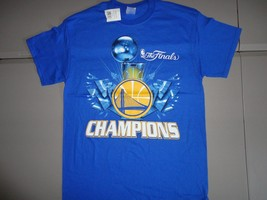 NWT Blue Golden State Warriors 2015 NBA Finals Champions Basketball T Sh... - $21.17