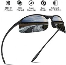 JULI Polarized Sports Sunglasses For Men Women Tr90 Unbreakable Frame For - $39.40