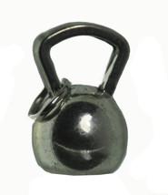 NICE Kettlebell Sterling Silver .925 Charm exercise cardiovascular stren... - $11.56