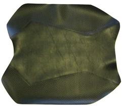 2013-17 Ninja 300 Black Widow Front Motorcycle Seat Cover AS Black/CF Black - $55.00