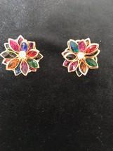 Vintage Costume Jewelry Clip on Earrings - $9.99