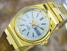Beautiful Orient Ladies Automatic Vintage Gold Plated Watch Circa 1970  NR28 - $593.01