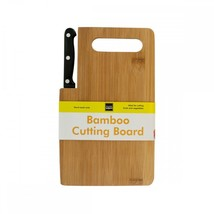 Bamboo Cutting Board With Built-in Knife OF980 - £31.43 GBP