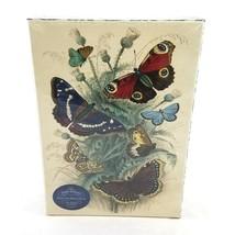 John Derian Paper Goods Dancing Butterflies Artisan Jigsaw Puzzle 750 Pi... - $19.79