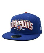 Chicago Cubs New Era 59FIFTY MLB World Series Champions Fitted Cap Hat 7... - $24.65
