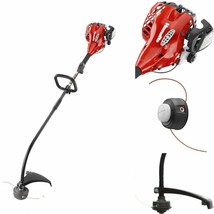 CURVED SHAFT GAS TRIMMER 2 Cycle 26 CC Lawn Yard Lightweight Handheld We... - $109.42