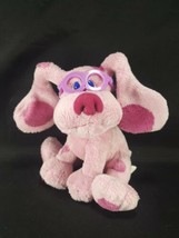 """Blue's Clues MAGENTA With Glasses TY Beanie Baby 6"""" Bean Bag Plush Stuff... - $12.86"""