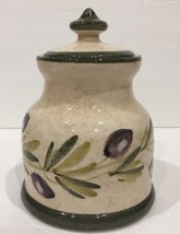 Opera Nova Condiment Jar Canister Multi-Purpose Made In Italy Olives & B... - $18.76