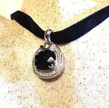Vintage Bohemian Huge Genuine Garnet 925 Sterling Silver Deco Pendant Ch... - $183.15