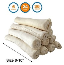 123 Treats Premium Rawhide Retriever Rolls for Dogs – (8-10 Inches|24 Co... - $58.94