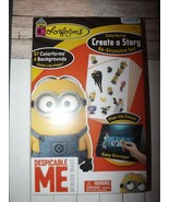 Colorforms Create A Story Re-stickable Despicable Me Minion Made 4 Backg... - $9.72
