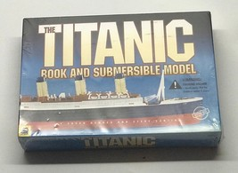 The TITANIC BOOK AND SUBMERSIBLE MODEL By Susan Hughes & Steve Santini -... - $1,480.05