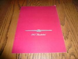 1967 Ford Thunderbird Sales Brochure - Vintage - $14.49