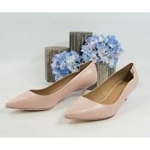 Tory Burch Elizabeth Seashell Pink Leather 40MM Kitten Heels 10 NIB - $162.86