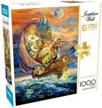 Buffalo Games Puzzle Glitter 1000 Piece 26 in x 19 in, VOYAGE to MURRLIS... - $23.70