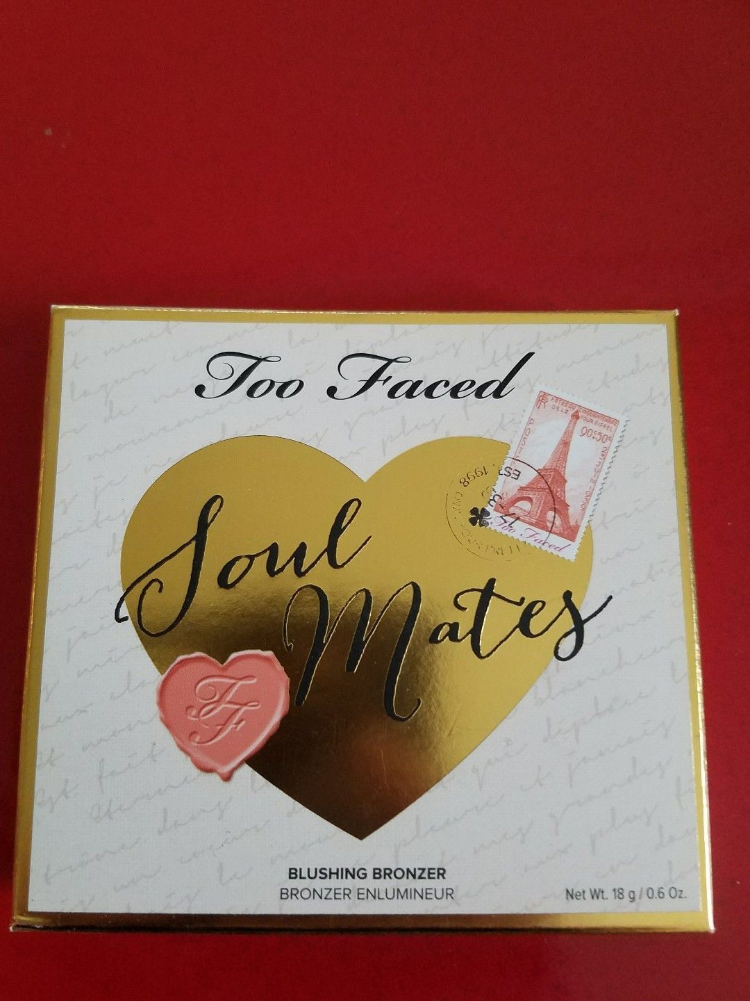 TOO FACED Soul Mates Blushing Bronzer - CARRIE & BIG - Brand New in Box - $17.95