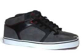 VANS Ellis Mid (Red Stitch) Charcoal/Black Casual Skate MEN'S 6.5 WOMEN'S 8 - $42.02