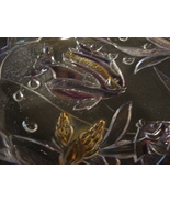 Mikasa Aquatic Multi-Color Fish Crystal Serving Plate - $15.99