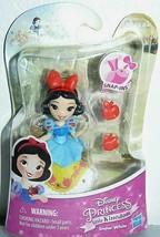 2015 Hasbro Disney Princess Little Kingdom SNOW WHITE SNAP-INS FIGURE 3 ... - $11.16