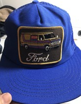 Vintage Ford Truck Keystone Trucker SnapBack Mesh Hat Van Patch  USA - $49.45