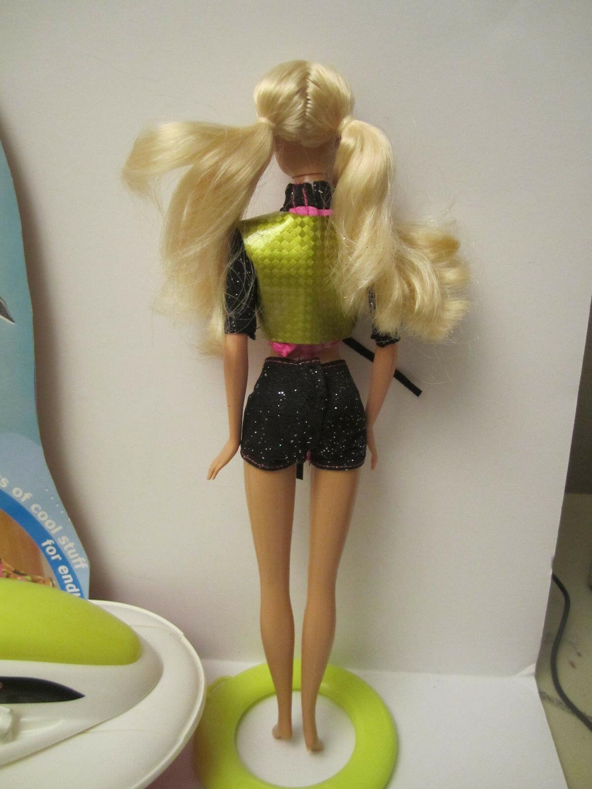 MINT Deboxed Partial 2003 Barbie Sea Splashin' Set Doll with Jetski & Dolphin image 5