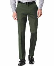 TM Exposure Men's Premium Slim Fit Dress Pants Slacks Flat Front Multiple Colors image 10