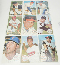Lot Of 9 1964 Topps Giants Baseball Cards -A3 - $16.99