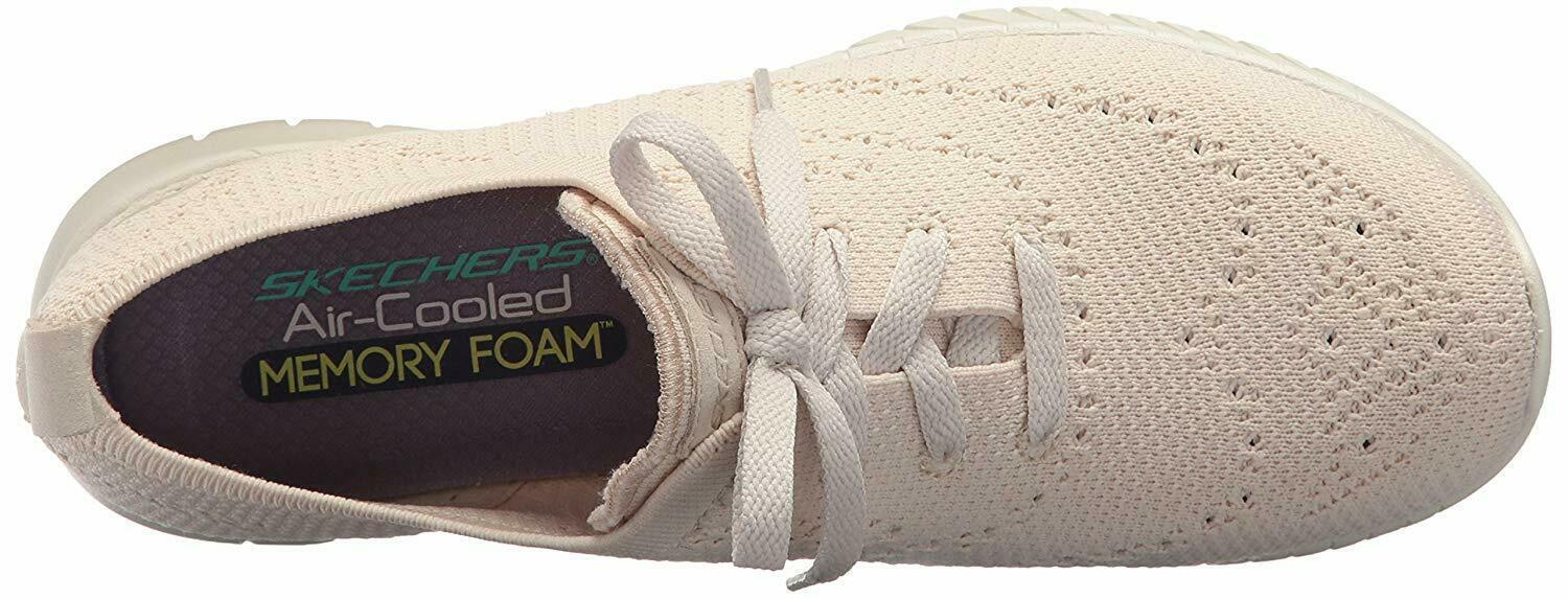 NEW Skechers Womens Natural Mesh Wave Lite-Pretty Philosophy Memory Foam Shoes 9 image 5