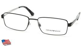 New Emporio Armani Ea 1015 3008 Black Eyeglasses Frame 53-17-140mm B32mm - $74.24