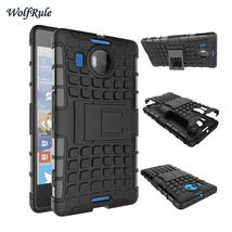 For Cover Microsoft Lumia 950 XL Case Silicone & Plastic Phone Holder Ca... - $9.81