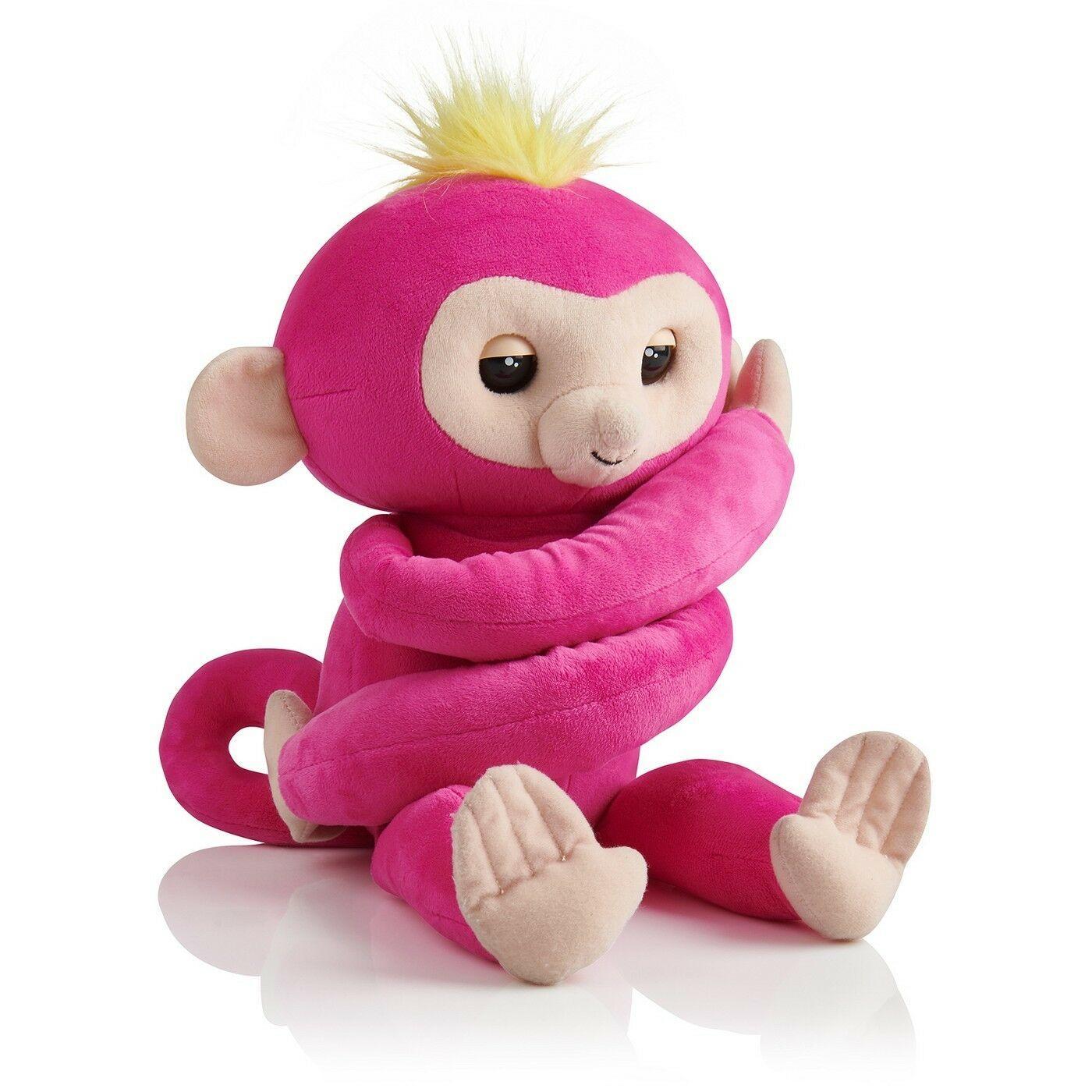 WowWee Authentic Fingerlings Baby Monkey Bella HUGS Softies VHTF Ready 2 Ship!