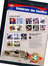 Sheet of 15 #3185 Celebrate the Century 1930s 32 cent stamps – USPS seal... - $6.00