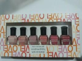 """Deborah Lippmann Nail Polish Gel Lab Pro SET """"MAKE ME BLUSH"""" W/ 6 Bottle... - $21.38"""