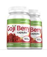 Goji Berry Extract 500mg High Strength Capsules 120 Capsules - $25.99