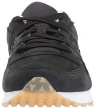 Saucony Originals Mens Black Nubuck Leather DXN Trainer CL Running Sneaker Shoe image 2