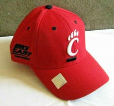 Cincinnati Bearcats Adult One size Ball Cap Hat Red White Big East Conference  - $10.88