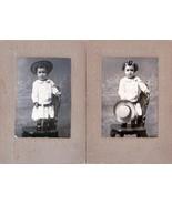Orville Calhoon (2) Cabinet Photos of Little Boy - Denver, CO (1905-1906) - $34.50