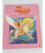 Vintage She-Ra Shera Book Princess of Power 1985 A Golden Book - $17.81
