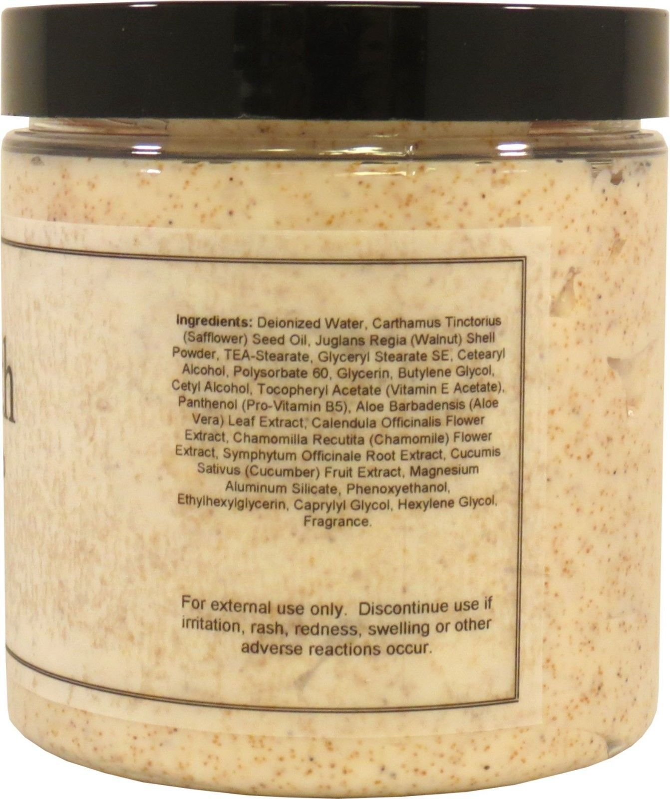 Patchouli Walnut Body Scrub