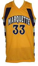 Jimmy Butler #33 College Basketball Jersey Sewn Gold Any Size image 1