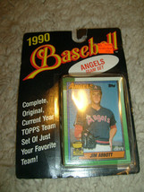 New In Pack, 1990 Angels Team Set , Topps Baseball Trading Cards #1002 - $5.00