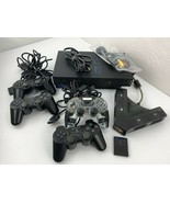 Playstation 2 PS2 Fat Video Game System 4 Controllers Memory Card Mad Ca... - $98.99