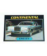 1976 Topps Autos of 1977 #44 Lincoln Continental Card VG-EX Condition - $14.83