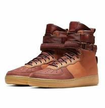 Nike SF AF1 Air Force One Premium Dark Russet Sherpa AQ0118-200 Mens Siz... - $109.95
