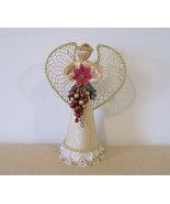 Christmas angel, abacá angel, straw angel, raffia angel, christmas angel... - $25.00