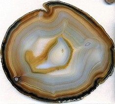 Dyed Agate Slab 9 Cabbing Rough - $6.25
