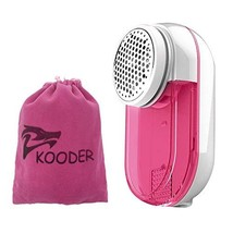 KOODER Sweater Shaver, Double Battery Lint Remover, Efficient and Durable Sweate