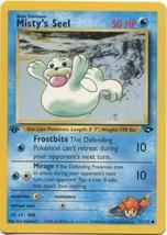Pokemon Card - 1st Edition Misty's Seel (91/132) Gym Challenge Set  ***N... - $1.99