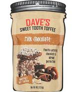 Dave's Sweet Tooth Toffee, Milk Chocolate Flavor with Real Butter, Real ... - $11.87