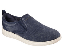Men's SKECHERS RELAXED FIT: Status - Gelding, 64831 /NVY Multiple Sizes ... - $59.95